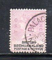 XP5026 - BECHUANALAND 1887  Yvert N. 12  Usato - Bechuanaland (...-1966)