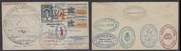USA - XX. 1962. Alaska - Antartica. Well Travelled Fkd Env Via Orcadas - Ushuaia - Argentina. - Etats-Unis