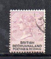 XP5027 - BECHUANALAND 1887  Yvert N. 15  Usato - 1885-1895 Colonia Britannica