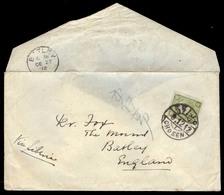 KOREA. 1912 (9 Dec). Keijo - UK (27 Dec). Fkd Env 2 Sen Green Japan Tied Keijo / Seoul / Chosen (xxxx) Superb Strike Sen - Korea (...-1945)