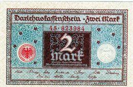 Billet Allemand 2 Mark Le 1-3-1920 - En S U P - - 2 Mark