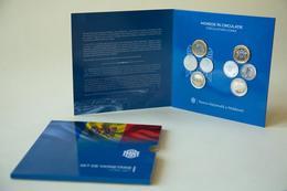 MOLDOVA 2019 Set New Coins 2018 1-2-5-10 Lei (8 Pcs) In Blister UNC - Moldova