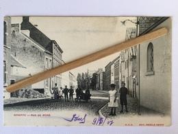 GENAPPE»RUE DE MONS» Animée 1907 (Édit O.V.S.  DECELLE SŒURS) - Genappe