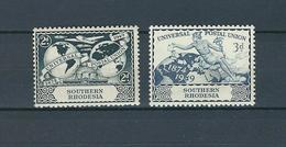Zimbabue [Southern Rhodesia], 1949 75 Years U.P.U. 2v  MNH - U.P.U.