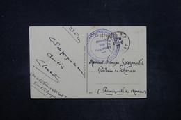 """FRANCE - Cachet  """" Service Des Passeports - Haute Silésie """" Sur Carte Postale En 1920 Pour Le Palais De Monaco - L 26708 - Storia Postale"""