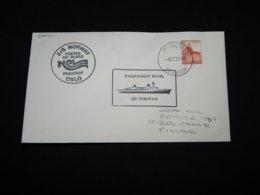 Norway 1984 Bermuda S/S Norway Paquebot Cover__(L-30949) - Norwegen