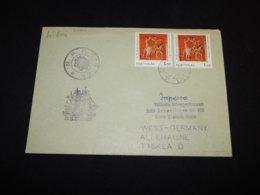 Portugal 1970's Lisboa N.E. Sagres Cover__(L-27924) - Lettere