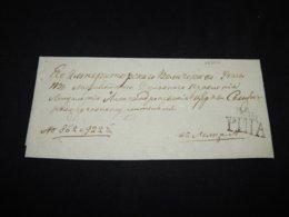 Russia 1828 Puta Prephilately Letter__(L-26202) - Russia & USSR