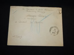 Russia 1881 St.Petersburg Postage Due Cover To Germany__(L-28755) - 1857-1916 Empire