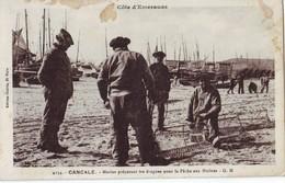 291  E CPA Cancale Marins Dragues Pour La Pêche Aux Huitres - Cancale