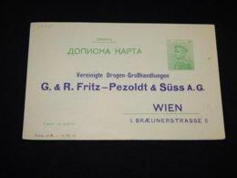 Serbia 5p Green Unused Stationery Card__(L-28010) - Serbie