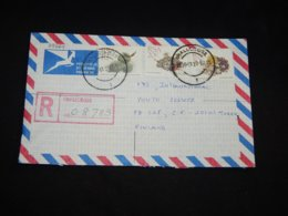 South Africa 1990 Shallcross Registered Cover To Finland__(L-28264) - South Africa (1961-...)