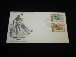 South Arabia 1966 Football World Cup FDC__(L-24964) - Jemen