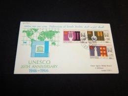 South Arabia 1966 Unesco FDC__(L-24963) - Yemen