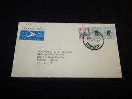 Sudan 1961 Kurmuk Air Mail Cover To USA__(L-25081) - Sudan (1954-...)