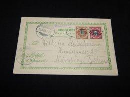 Sweden 1903 Fra Sverige Paquebot Card__(L-26208) - Brieven En Documenten