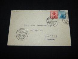 Switzerland 1921 Alexandria Cover To Denmark__(L-26728) - Briefe U. Dokumente