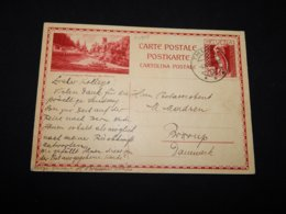 Switzerland 1939 Thun 20c Red Picture Stationery Card__(L-24808) - Entiers Postaux