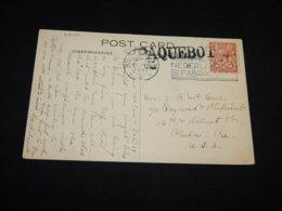 UK 1931 Rotterdam Paquebot Card To USA__(L-27100) - 1902-1951 (Könige)