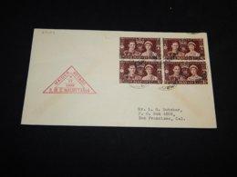 UK 1939 Liverpool R.M.S. Mauretania Cover__(L-27124) - Covers & Documents