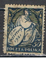 (POL 96) POLSKA0 //  YVERT 241 //  1921 - 1919-1939 Republic
