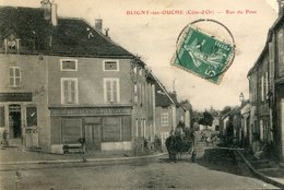 BLIGNY SUR OUCHE - Rue Du Pont La Calèche Près De La Maison Marchand Rivot - Autres Communes