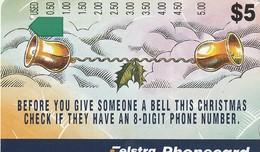 TARJETA TELEFONICA DE AUSTRALIA. CHRISTMAS. Christmas Reminder. AUS-M-320. (132) - Christmas