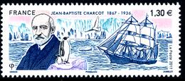 FRANCE 2017, JEAN-BAPTISTE CHARCOT 1867-1936 - Esploratori E Celebrità Polari