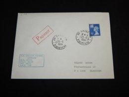 UK 1984 Brest M.V. Unicorn Michael Paquebot Cover__(L-31100) - 1952-.... (Elizabeth II)