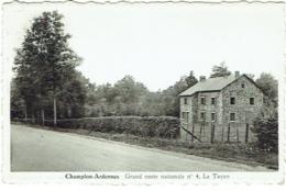 Champlon Ardennes. Grand Route Nationale 4. Le Tayen. Cachet CAMPA.E.P.  Domaine De Ste.-Gertrude. - Tenneville