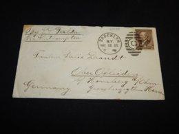 USA 1885 Brooklyn S.S. Fulda Ship Mail Cover__(L-27139) - 1847-99 Unionsausgaben