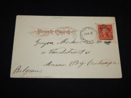 USA 1905 Sea Post Card To Belgium__(L-27059) - Covers & Documents