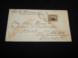 USA 1922 New York S/S Homeric Ship Mail Cover To Denmark__(L-27137) - Vereinigte Staaten