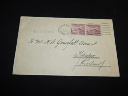 USA 1936 Southampton Queen Mary Paquebot Cover__(L-27164) - Vereinigte Staaten
