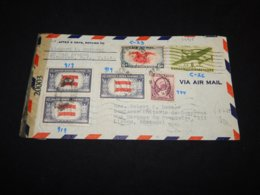USA 1944 Braunswik Air Mail Cover To Portugal__(L-24915) - 2c. 1941-1960 Lettres