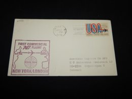 USA 1970 Jamaica First Flight New York-London__(L-24791) - United States