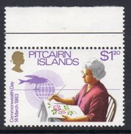 Pitcairn QEII 1983 Commonwealth Day $1.20 Value, Wmk. Crown To Right Of CA, MNH, SG 237w - Stamps