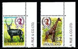 Swaziland Nº 219/20 Nuevo - Swaziland (1968-...)