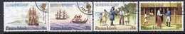 Pitcairn QEII 1983 175th Anniversary Of Polger's Discovery Of Settlers Set Of 4, Used, SG 238/41 - Pitcairn Islands