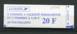 12180 FRANCE  1508** Marianne Du 14 Juillet : 6 Sans Valeur (3085) + 2 X  1F Orange (3101)    1997  TTB - Uso Corrente