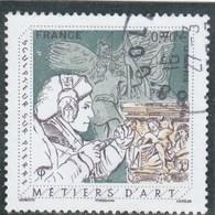 FRANCE 2016 METIERS D ART SCULPTEUR SUR PIERRE OBLITERE YT 5040 - France