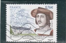 JACQUES II DE CHABANNES 2015 OBLITERE Yt 4955 - France
