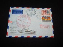 Vietnam 1971 Da-Nano Red Cross Cover__(L-27572) - Viêt-Nam