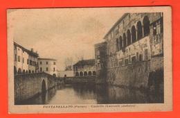 Fontanellato Parma Castello Lato Sinistro Cpa Anni '30 - Parma