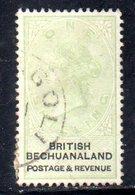 XP5028 - BECHUANALAND 1887  Yvert N. 16  Usato - 1885-1895 Colonia Britannica