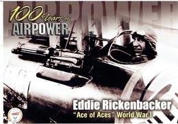 "100 Years Of Airpower / EDDIE RICKENBACKER - ""Ace Of Aces"" (U.S.Air Force Edition) - Modern Card - 1914-1918: 1. Weltkrieg"