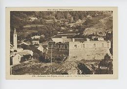 Colmars Les Alpes : Le Fort De France (nos Alpes Pittoresques N°170 Cp Vierge) - Other Municipalities