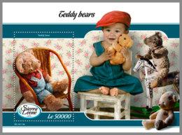 SIERRA LEONE 2019 MNH Teddy Bears Teddybären Ours En Pelouche S/S - IMPERFORATED - DH1912 - Enfance & Jeunesse