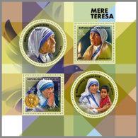 TOGO 2019 MNH Mother Teresa Mutter Teresa Mere Teresa M/S - OFFICIAL ISSUE - DH1912 - Mère Teresa