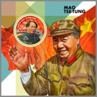 TOGO 2019 MNH Mao Tse-Tung S/S - IMPERFORATED - DH1912 - Mao Tse-Tung